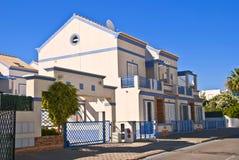 villa för försäljning för mantaportugal rota arkivbilder