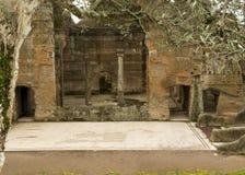 Villa för Hadrian ` s arkivbild