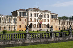 villa för sul för brentacontarinipiazzola Royaltyfri Fotografi