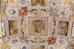 Villa Farnese - Room of the wall-makers Stock Image