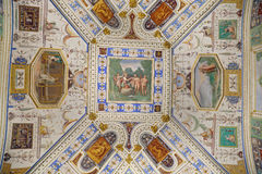 Villa Farnese - Room of the wall-makers Royalty Free Stock Photos