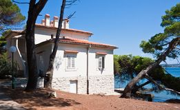 Villa Fazanka. Brijuni. Croatia Royalty Free Stock Photos