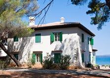 Villa Fazanka.Brijuni. Croatia Stock Images