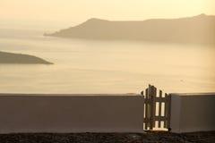 Villa in Firostefani, Santorini Royalty Free Stock Image