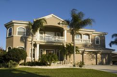 Villa in Florida Lizenzfreies Stockbild