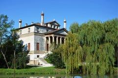 Villa Foscari, named La Malcontenta, designed by Andrea Palladio architect. Year 1565, on Brenta river near Venice in Italy - aug 06 2014 Stock Images