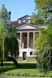 Villa Foscari, named La Malcontenta, designed by Andrea Palladio architect. Year 1565, on Brenta river near Venice in Italy - aug 06 2014 Stock Photography