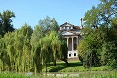 Villa Foscari, nominato La Malcontenta, progettato dall'architetto di Andrea Palladio Fotografia Stock Libera da Diritti