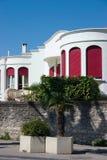 Villa française de ville Photographie stock libre de droits
