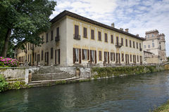 Villa Gaia on the Naviglio Grande Stock Images