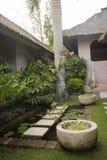 Villa Garden Royalty Free Stock Images