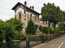 Villa with garden Stock Photo
