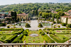 Villa Garzoni, Tuscany Royalty Free Stock Photography