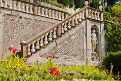 Villa Garzoni, Tuscany. Elegant Villa Garzoni in Tuscany, Italy Stock Photography