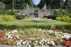Villa Garzoni, Tuscany. Elegant Villa Garzoni in Tuscany, Italy Royalty Free Stock Images