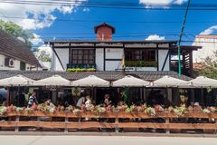 Villa General Belgrano, Argentine images stock