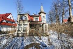 Villa genoemde Mak in Zakopane stock foto