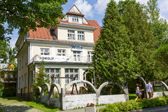 Villa Giadiola in Zakopane Royalty Free Stock Photos
