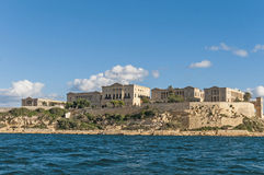 Villa Giovanni Bighi in Kalkara, Malta Royalty Free Stock Images