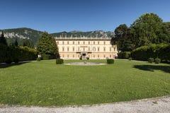 Villa Giulia bij Bellagio & x28; Como& x29; Royalty-vrije Stock Afbeeldingen