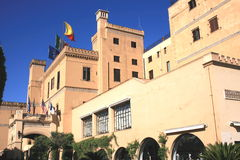 Villa grande Igiea d'hôtel Photo libre de droits