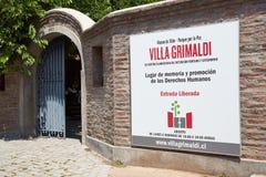 Villa Grimaldi Stock Image