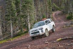 Toyota 4Runner on Hayden Pass Road royalty free stock photo