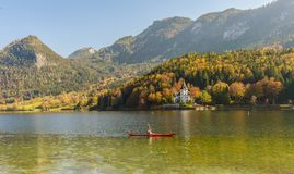 Villa , Grundlsee, Austria. stock photos