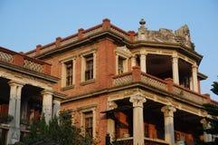 Villa in gulangyu Stock Afbeeldingen