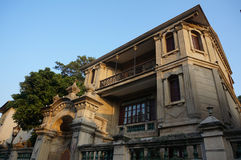 Villa in gulangyu fotografia stock