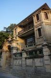 Villa in gulangyu fotografia stock libera da diritti