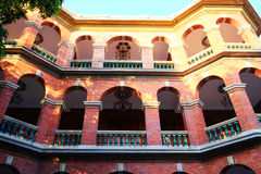 Villa in gulangyu, xiamen,fujian. The old villa and European architecture in gulangyu island ,xiamen city ,Fujian province , China Royalty Free Stock Photography