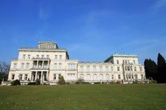 Villa Hügel and park Essen-Bredeney. A part of Vila Hügel Essen Royalty Free Stock Photo