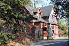 Villa Hügel and park Essen-Bredeney. Stock Photography