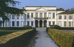 Villa in het Park Monza Royalty-vrije Stock Foto's