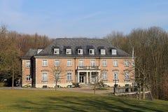 Villa Hügel and park Essen-Bredeney. Royalty Free Stock Images