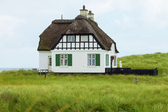 Villa historical in Denmark with sea view Stock Images
