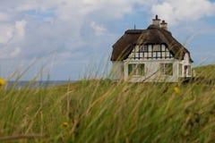 Villa historical in Denmark with sea view Stock Photos