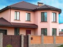 Stylish house Stock Photography
