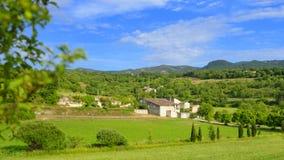 Villa i Provence fotografering för bildbyråer