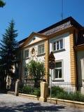 Villa i Rzeszà ³ w, Polen Arkivbild