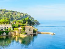 Free Villa In The Small Bay On The Bank Of The Mediterranean Sea Stock Photography - 149135162