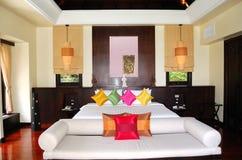 Villa interior at the luxury hotel Stock Image
