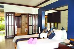 Villa interior at the luxury hotel Royalty Free Stock Photo