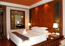 Villa interior at the luxury hotel Royalty Free Stock Photos