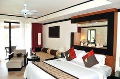 Villa interior at the modern luxury hotel Royalty Free Stock Photo