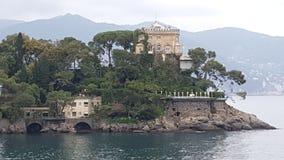 Villa italiana Fotografia Stock Libera da Diritti