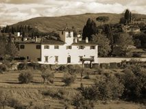 Villa italiana Immagine Stock