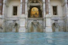 Villa. Italy rome park gardens trees architecture palace Stock Image