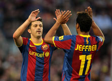 Villa and Jeffren of Barcelona Royalty Free Stock Image